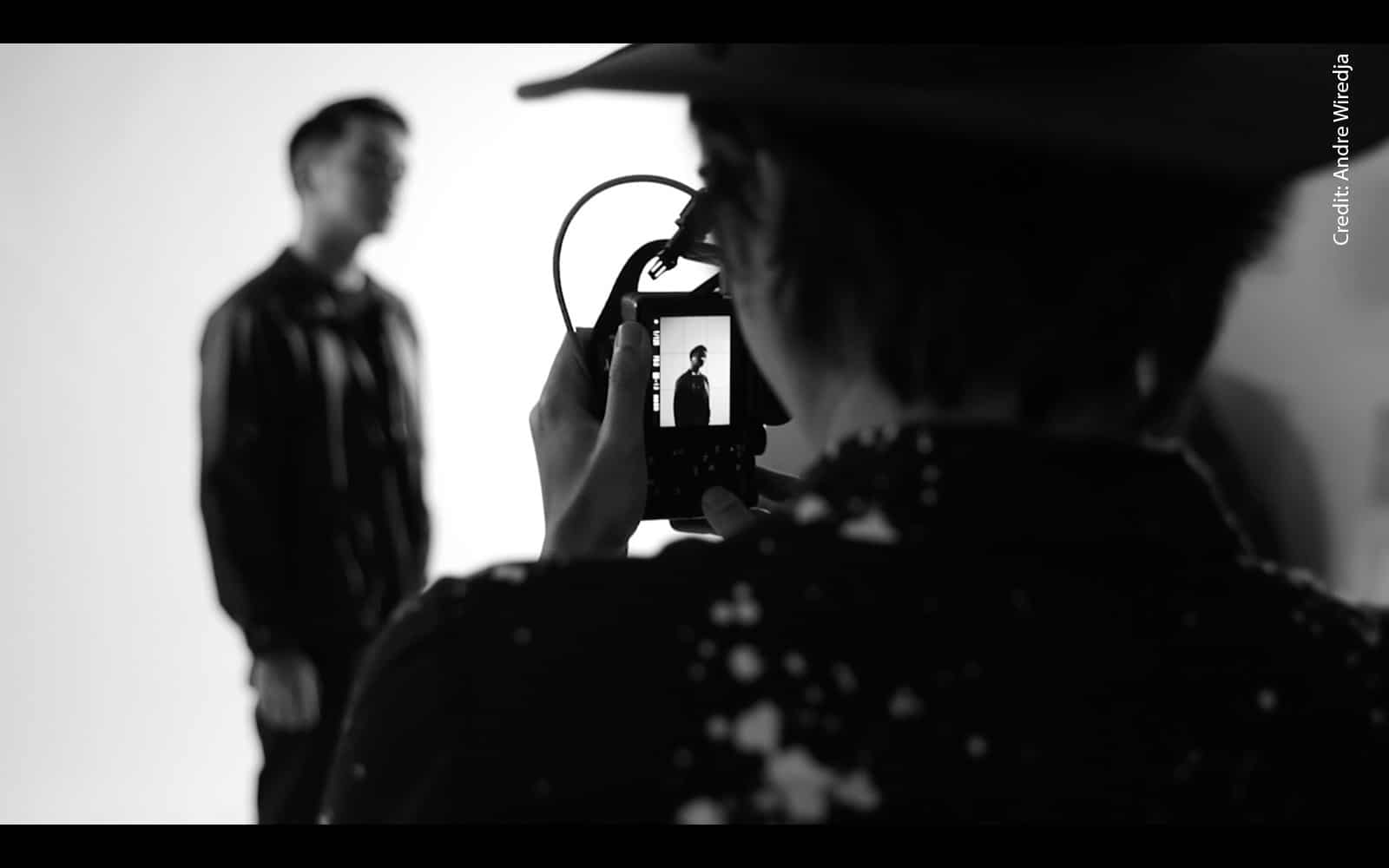 fotografer Andre Wiredja bukan virtual photoshoot