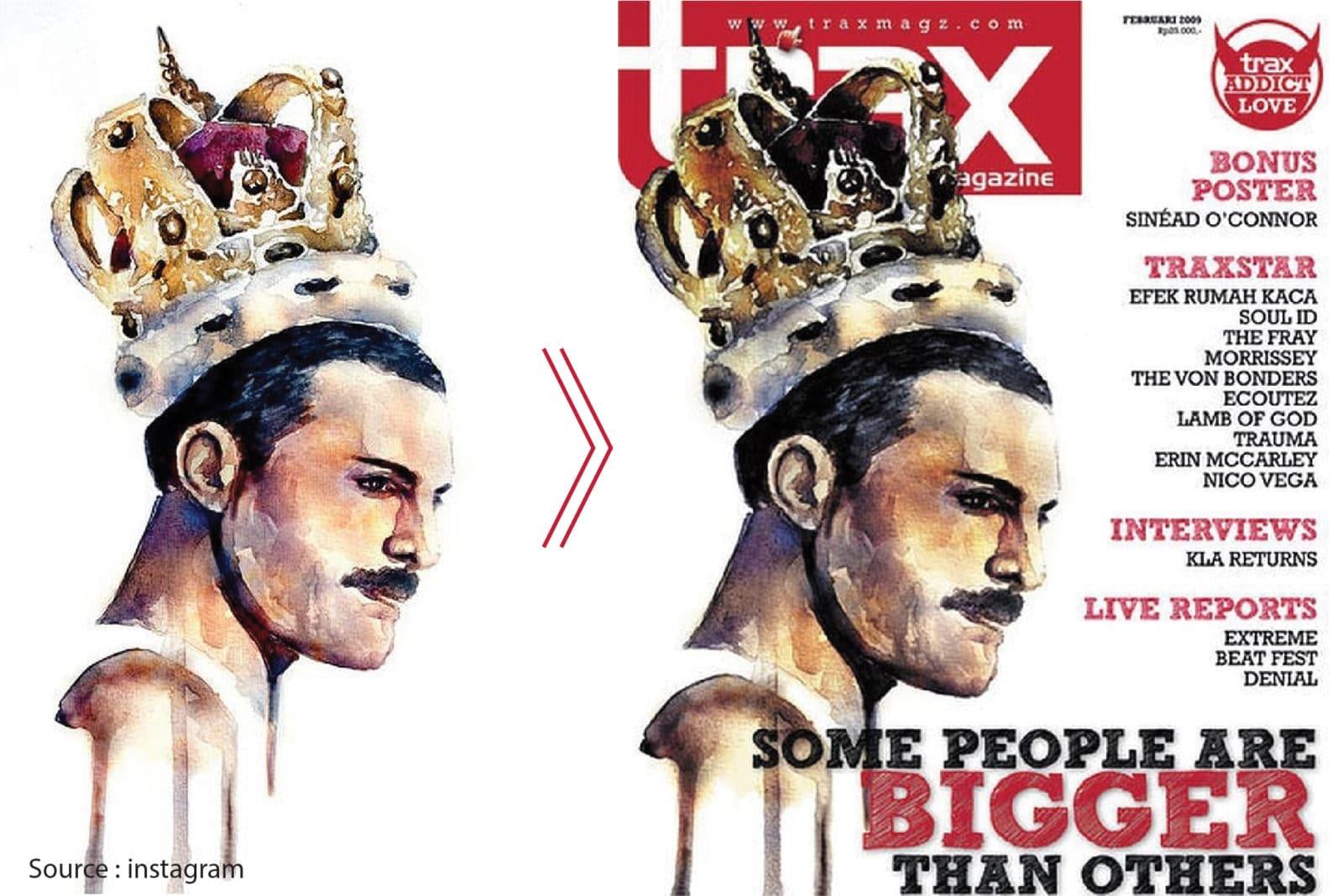 cover majalah trax