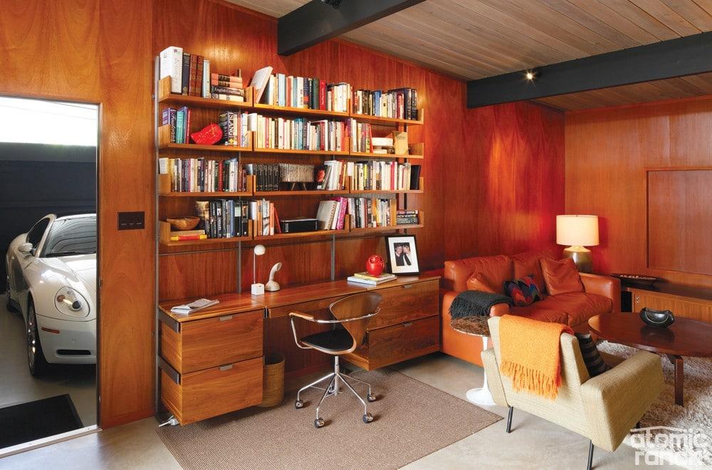 gaya interior mid century