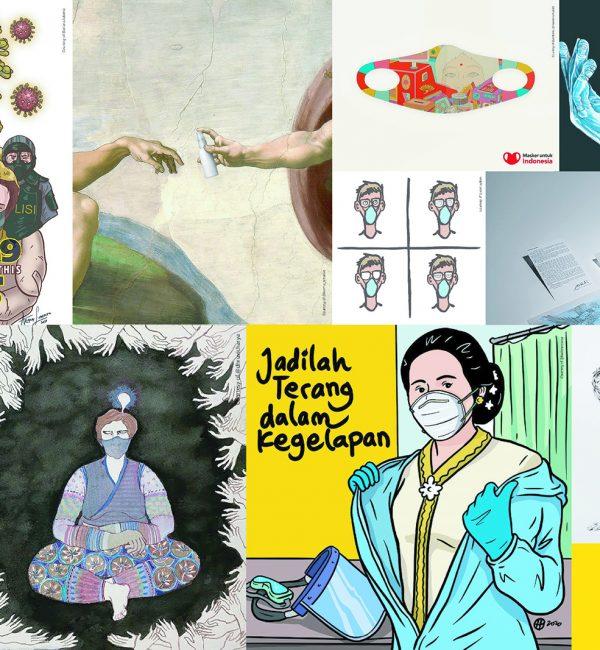 Ragam Karya Para Seniman Tentang Covid-19